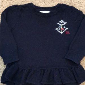 Ralph Lauren baby girl sweater